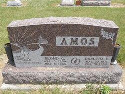 Dorothea E <I>Brinkman</I> Amos