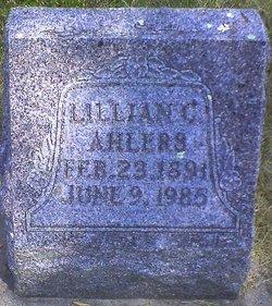 Lillian C. <I>Siers</I> Ahlers