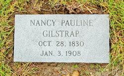 Nancy Pauline <I>Jackson</I> Gilstrap