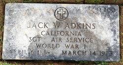 Jack W Adkins