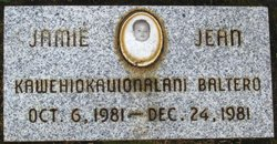 Jamie Jean Kawehiokauiokalani Baltero