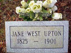 Amanda Jane <I>West</I> Upton