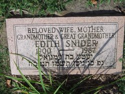 Edith Snider