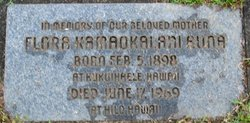 Flora Kamaokalani Auna