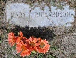 Mary <I>Cook</I> Richardson