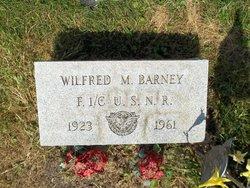 Wilfred M Barney