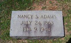 Nancy Turner <I>Spence</I> Adams