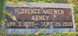 Florence <I>McEwen</I> Abney