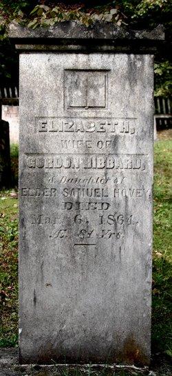 Elizabeth <I>Hovey</I> Hibbard