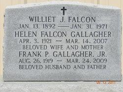 Williet Joseph Falcon, Sr
