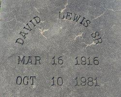David Lewis, Sr