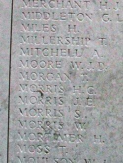 Private John Emlyn Morris