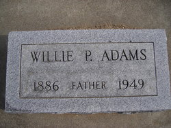 Willie Press Adams