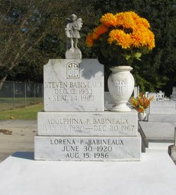Marie Adolphina <I>Prejean</I> Babineaux