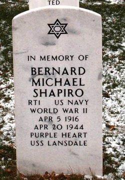 Bernard Michael Shapiro