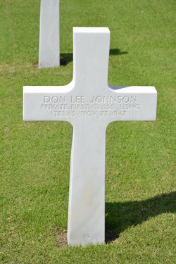 PFC Don Lee Johnson