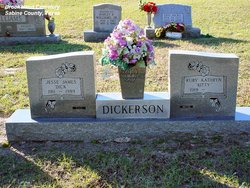 "Ruby Kathryn ""Kitty"" <I>Bailey</I> Dickerson"