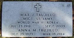 Anna M <I>Baca</I> Trujillo