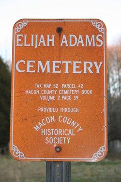 Elijah Adams Cemetery