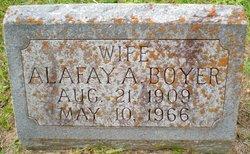 Alafay A. Boyer