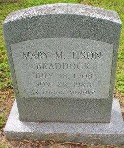 Mary Margaret <I>Tison</I> Braddock
