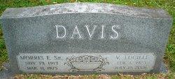 """Morris Eugene """"Buddy"""" Davis, Sr."""