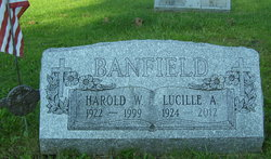 Lucille Ann <I>Williams</I> Banfield