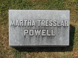 Martha <I>Tresslar</I> Powell