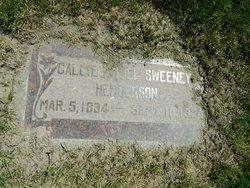 Callie <I>Sweeney</I> Henderson