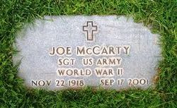 "Joe ""Diamond"" McCarty"