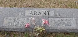 William Rudolph Arant