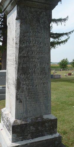 Adaliza J. <I>Gleason</I> Albright