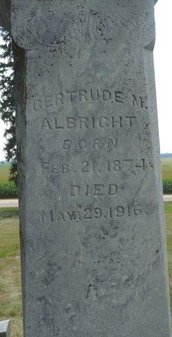 Gertrude Maude Albright
