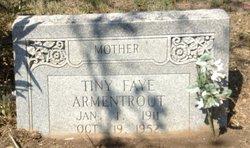 Tiny Fay <I>Polk</I> Armentrout