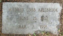 Mildred <I>Cobb</I> Allsbrook