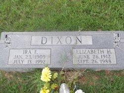 Elizabeth <I>Hankins</I> Dixon