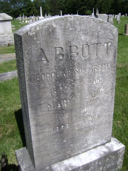 Mary <I>Ladd</I> Abbott