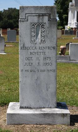 Rebecca A. <I>Renfrow</I> Boyette