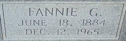 "Frances ""Fannie"" <I>Green</I> Cribb"