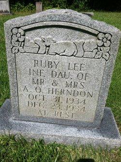 Ruby Lee Herndon