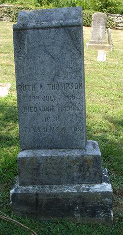 Ruth Ann <I>Riley</I> Thompson