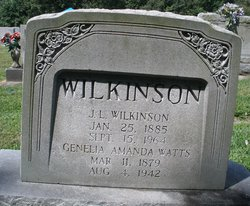 Genelia Amanda <I>Watts</I> Wilkinson