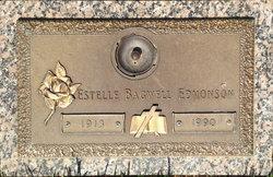Estelle <I>Bagwell</I> Edmonson