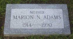 Marion N Adams