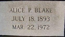 Alice <I>Porter</I> Blake