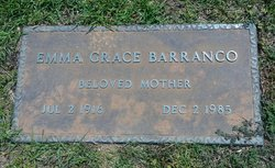Emma Grace <I>Miller</I> Barranco