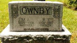 Mary A. <I>Montgomery</I> Ownby