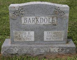 Mrs Lessie Primrose <I>Moubray</I> Barkdoll