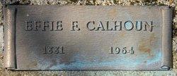Effie F Calhoun