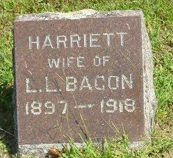 Harriett <I>Hand</I> Bacon